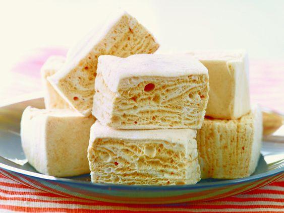 The probably need to happen at my house tomorrow!  sea salt caramel marshmallows