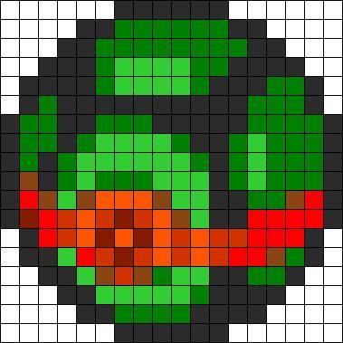 Duskball Perler Bead Pattern / Bead Sprite