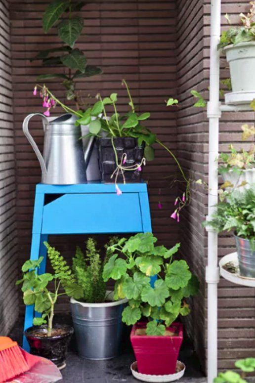 Home Tour Fresh Balcony Updates For Spring Ikea Plants Plant