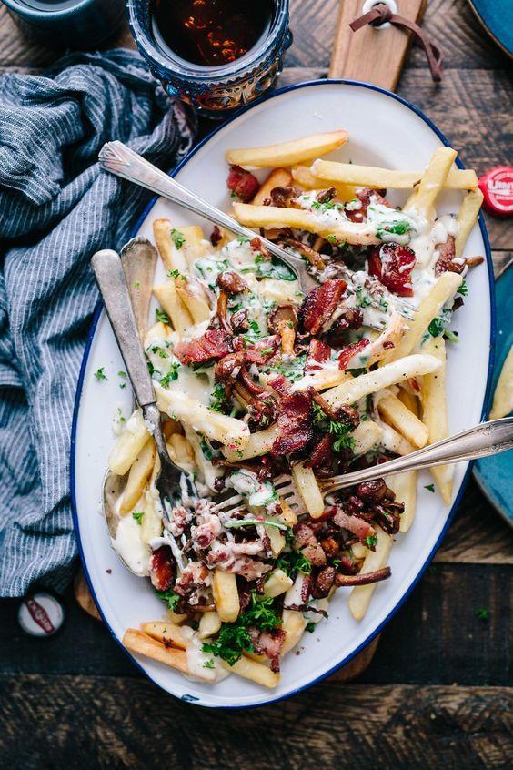 Sharing California fries