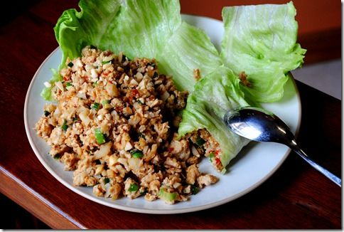Homemade PF Chang Lettuce Wraps