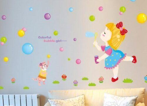 رسومات حوائط غرف أطفال 2020 صور مودرن ورسمات وتصميمات غاية في الروعة Baby Mobile Color