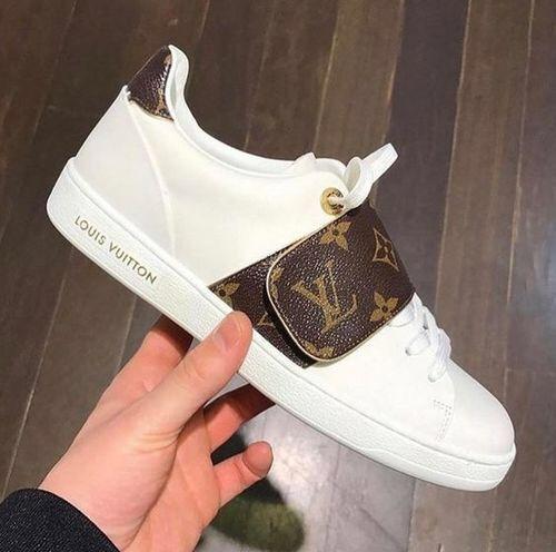 louis vuitton strap sneakers