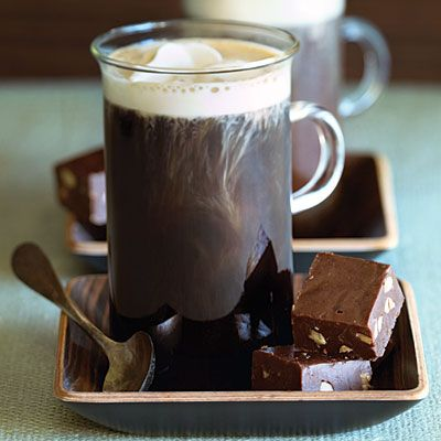 coffee and chocolate...
