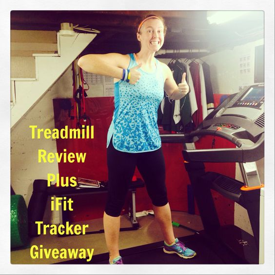 My NordicTrack Treadmill Review PLUS iFit Tracker Giveaway (Ends 12/15/14)