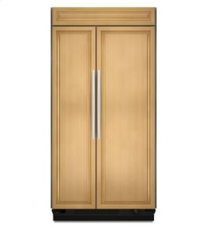 KitchenAid KSSO48FTX - 30 Cu. Ft. 48-Inch Width Built-In Side-by-Side Refrigerator, Overlay Panel-Ready - Panel Ready in New Jersey