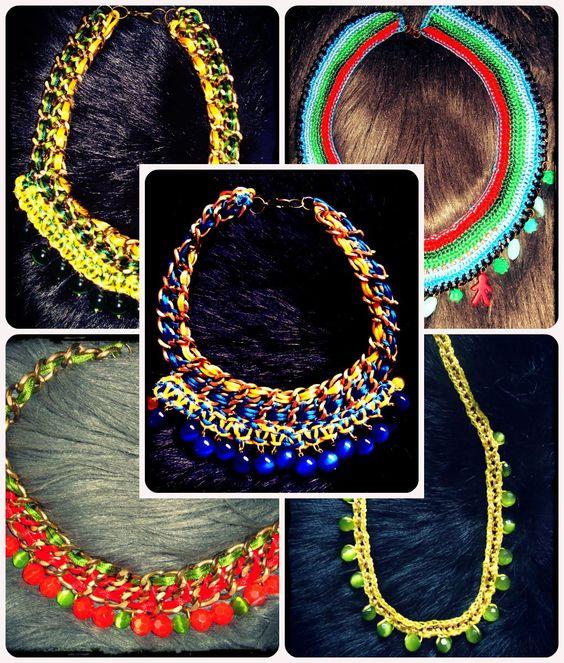 Collares fluor by Diseños 3F