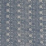 "Collection: Summers in France Pattern: Zazu Reverse Style #: F-7241R Color: Indigo Content: 100% linen Width: 53.5"" V. Repeat: 1.25"" H. Repe..."