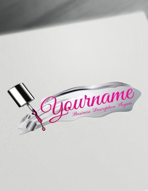 Make Online Nails Logo Designs Free With Nail Salon Logos Nail Logo Salon Logo Design Beauty Logo Design