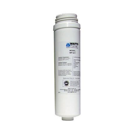 Watts Quick Connect Replacement Filter For Wp Qc1 With Images Replacement Filter Bottle Water Purification