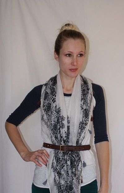 Scoop Charlotte Shopping News & Where to Go in Charlotte » Our new blogger takes on a Scarf Style Challenge.
