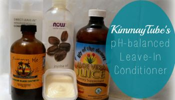 DIY: KimmayTube's pH-Balanced Leave-In Conditioner