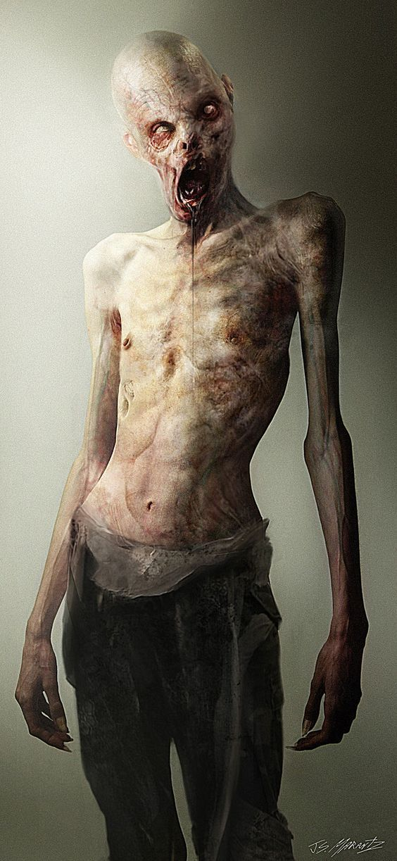 Humanoid mutant enemy male: