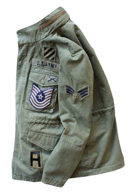 No.001 M65 type Jacket Military Custom (M) TRICK or TREAT