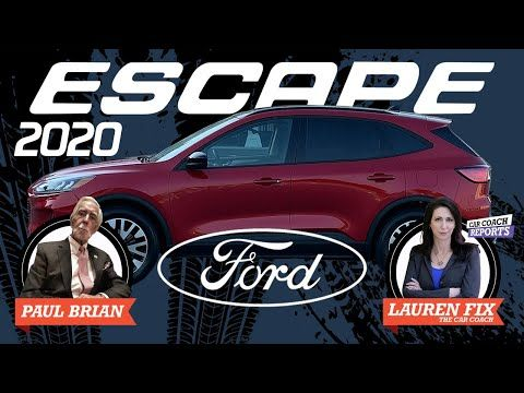 2020 Ford Escape Review His Turn Her Turn Youtube Ford Escape Ford Head Up Display