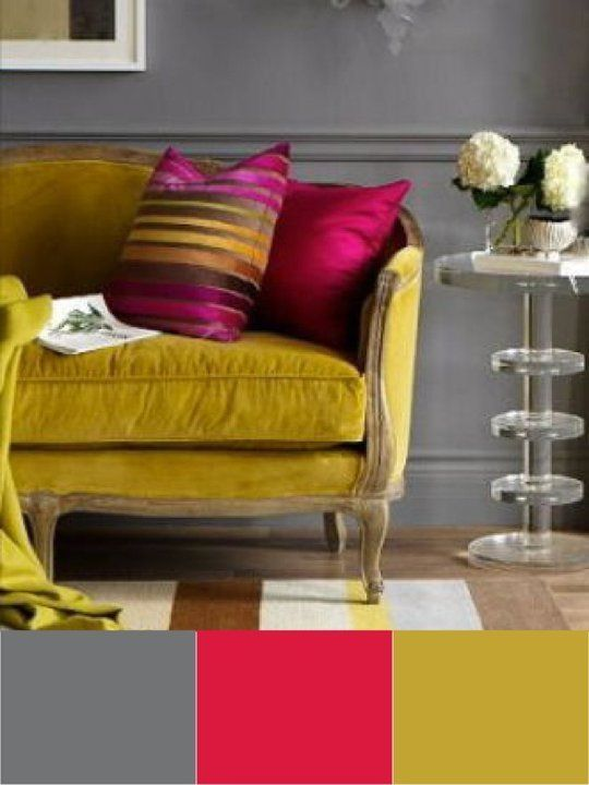 Be Bold Unusual Color Combinations That Work Wall Color Combination Home Sofa Colour Combinations