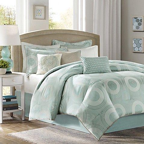 Comforter Sets Green, Seafoam Blue Bedding