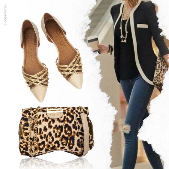 Para o trabalho, aposte em sapatos confortáveis e um estilo a mais nas bolsas!