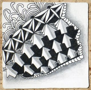Zentangle: Tiles Zia, Ii Zentangle, Zentangle Tiles, Zentangles, Zentangle Ebony, Zen Tangles, Zentangle Door, Zen Doo