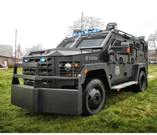 Pin Op Securite Police