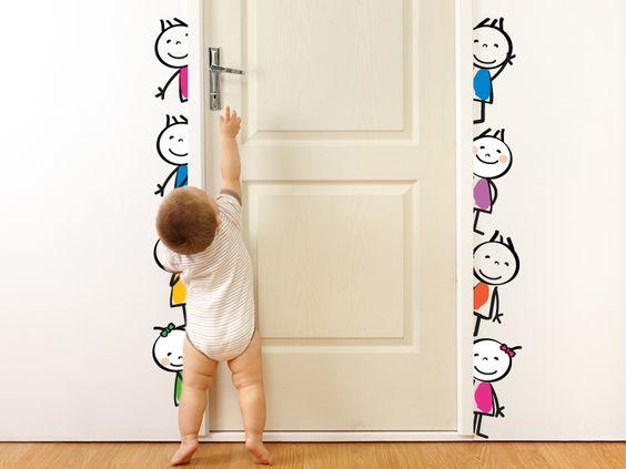 Vinilo infantil dibujos 001 nenes puerta precios y for Vinilos infantiles precios