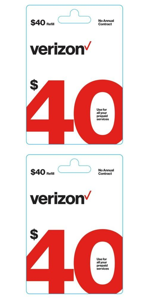 Phone And Data Cards 43308 Brand New 40 Verizon Wireless