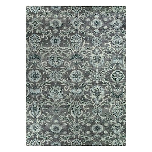 Beautify Any Floor With This Maples Bronwyn Floral Rug This Rug