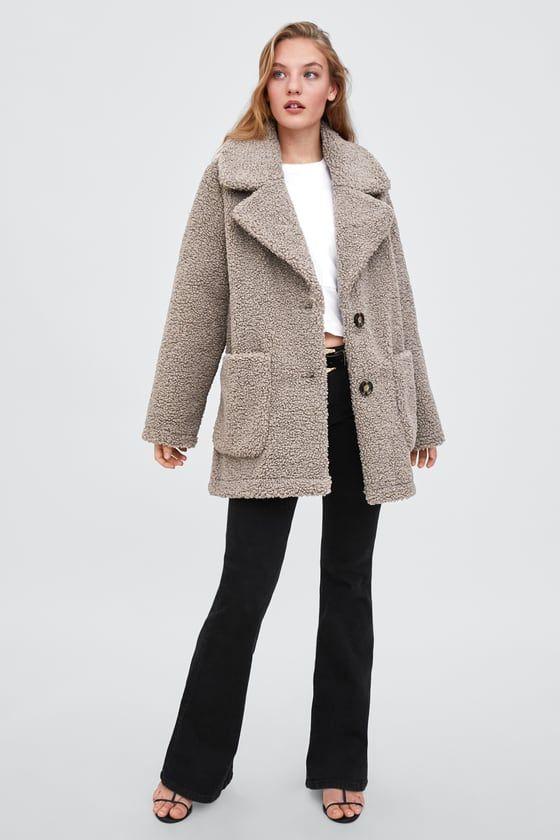 Fleece coat Jas, Kleding en Clothes