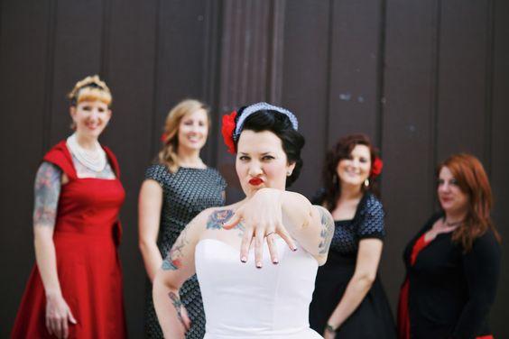 Day of the Dead Nebraska Wedding: Jessie & Joby