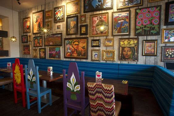Chiquito Mexican Bar  Grill - Our work - Harrison - Realising Creative Environments