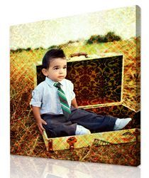 Artist Touch™ - photoPanel - Gallery wrap canvas $119 Print your photos on canvas and our artists add their touch to turn it into a masterpiece. #art #photo #gifts