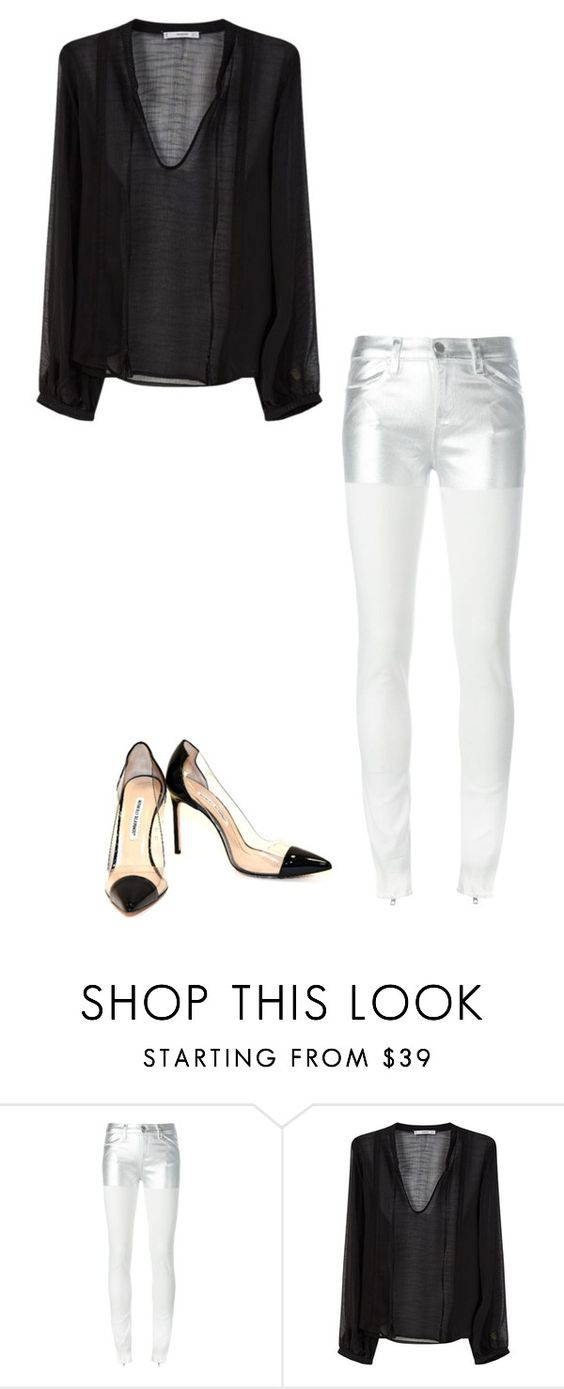 """""""Untitled #608"""" by lizzyoffrance ❤ liked on Polyvore featuring Alyx, MANGO and Manolo Blahnik"""