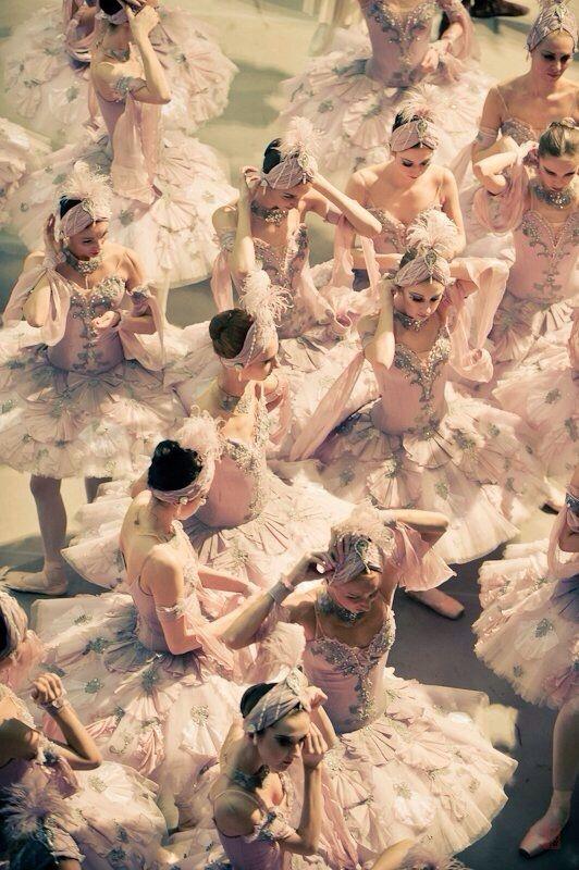 Mikhailovsky Ballet dancers in 'Le Corsaire' photographed by Nikolay Krusser.