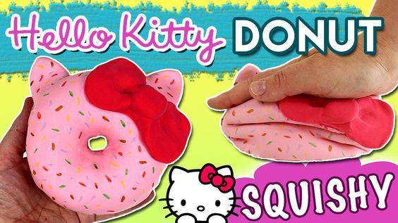 SQUISHY HELLO KITTY DONUT!!  Que ganas de comérmelo maaadre mía!! En el #tutorial de #hoynohaycole de hoy os enseño a hacer este #SQUISHY con forma de donut de @hellokitty  Es suuuuper fácil pero mirad que mono queda  espero que lo hagáis!  Podéis verlo YA en nuestro canal de #YouTube #hoynohaycole  #donut #hellokitty #DIY #craft #manualidadeshoynohaycole #masaelastica #jumpingclay #creativediy #origami #calendar #handmade #workshop #wallart #mylife #handmadeshop #rockit #trippy #gifts…