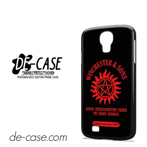 Supernatural Winchester Sons DEAL-10384 Samsung Phonecase Cover For Samsung Galaxy S4 / S4 Mini