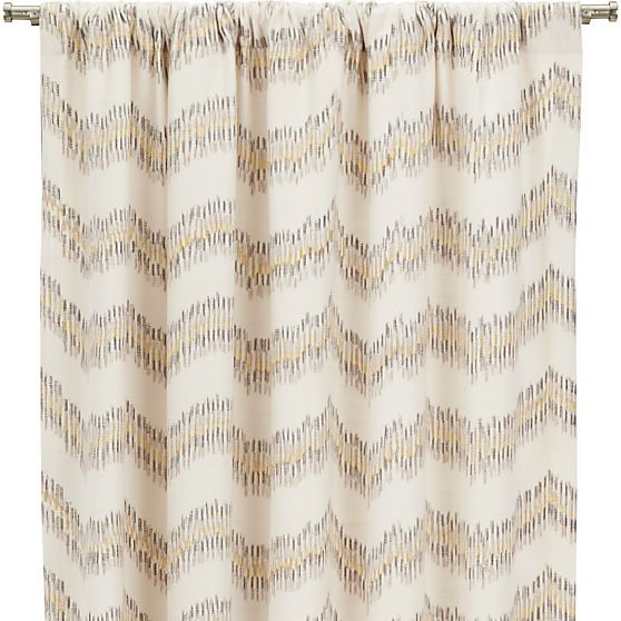Mavis Curtain Panels | Crate and Barrel | Curtains More ...