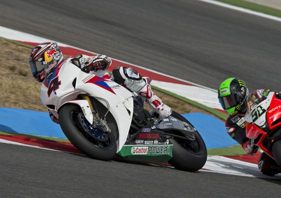 JONATHAN REA ON PROVISIONAL FRONT ROW AT PORTIMAO