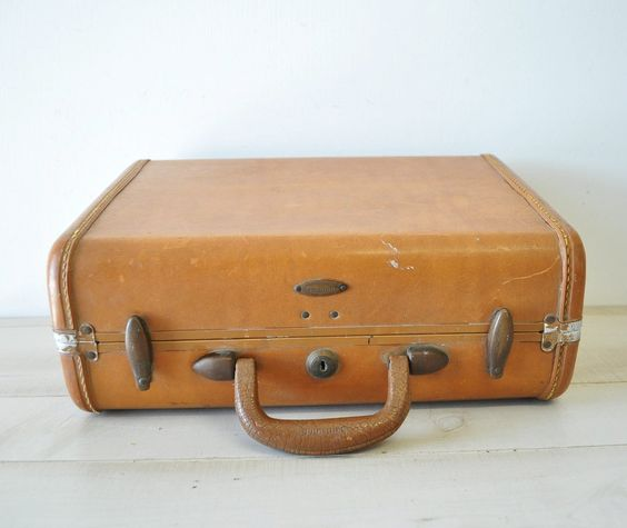 Vintage hard side samsonite luggage | Parents and Vintage