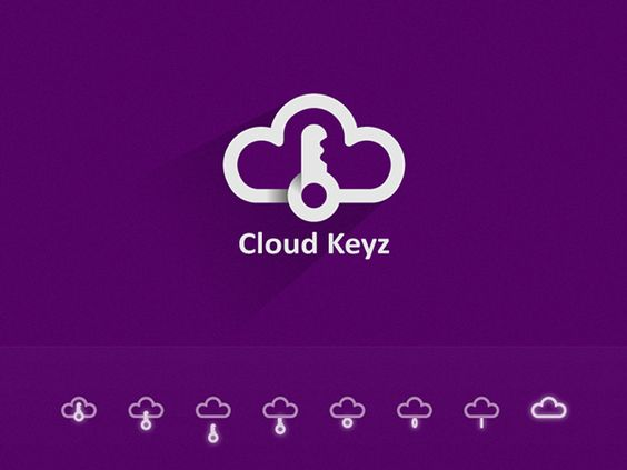 Cloud Keyz / Logo Proposal on Behance