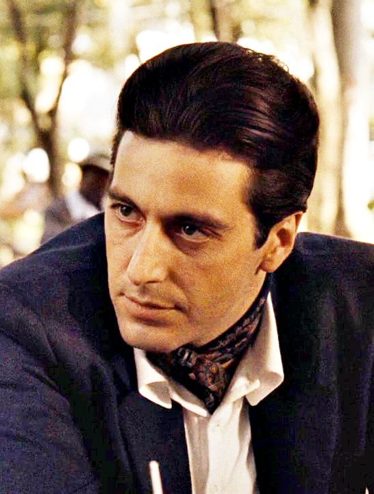 al pacino the godfather part ii 1974 his eyes tho. Black Bedroom Furniture Sets. Home Design Ideas