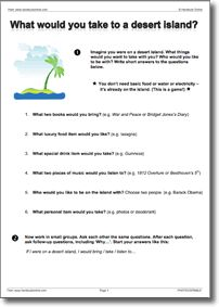 Instant EFL ESL Worksheets and Lesson Plans for English Teachers ...