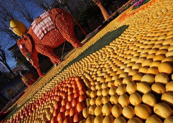 Guide de voyage Escapades | Menton fête ses citrons en grandes pompes - Partageco.fr © Office de Tourisme de Menton - N. Sartore