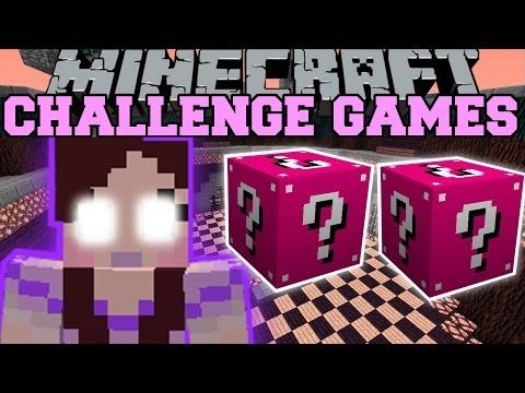 Pat and jen minecraft three headed dragon challenge games