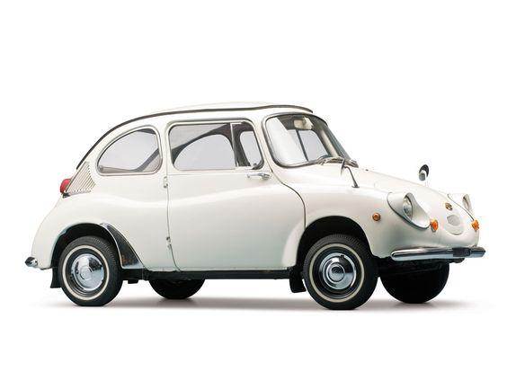 1970 Subaru 360.