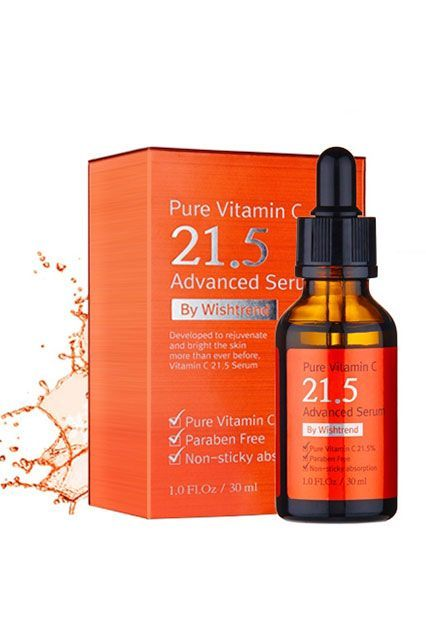 """It's no coincidence that two retailers in this slideshow call vitamin C serums best sellers; it speaks wonders to the ingredient's effectiveness. This option from popular site Wishtrend is a favorite because of how powerful it is compared to many on the market. """"The C21.5 Serum has always been a popular product for its highly concentrated formula that works to brighten skin tone and reduce pigmentation to get rid of any signs of dullness,"""" Wishtrend representative Gina Myung tells us."""