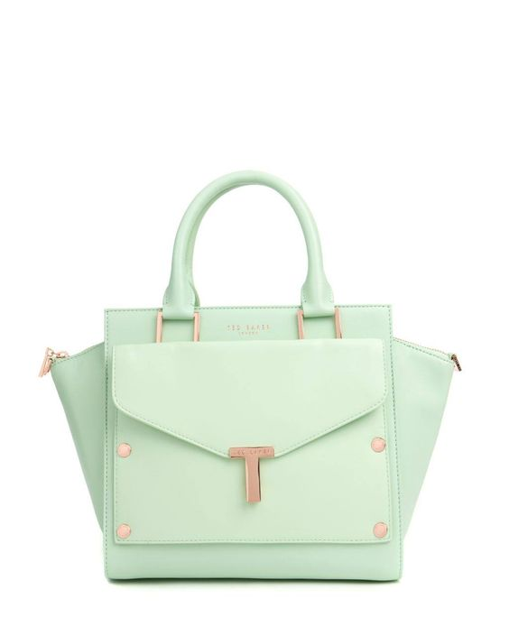 Mint green is the must have colour for the season, treat your Mum with the Burally T tote and clutch bag from @Ted Lee Baker on #RegentStreet this #MothersDay- £229.00