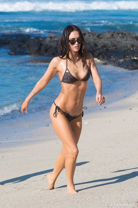 Pin for Later: 65 Sexy Stars in Bikinis! Megan Fox
