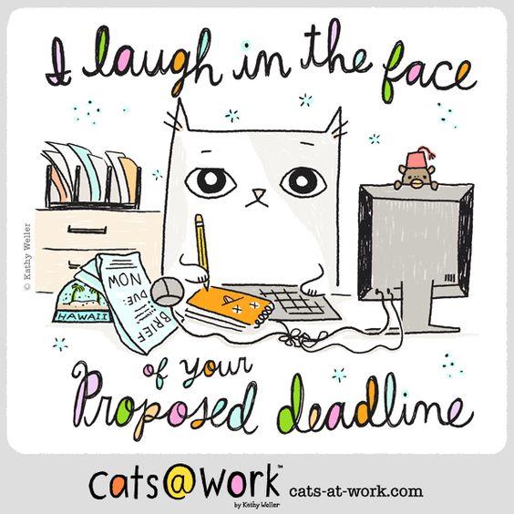 Ha... Ha... Ha. http://www.cats-at-work.com