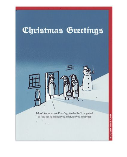 Tossed christmas cards and xmas on pinterest for Modern christmas card ideas