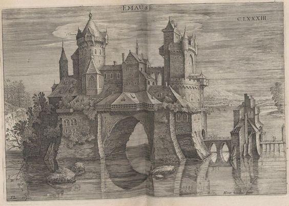 Deß weitberümbten Mathematici und Ingenieurs Perspectiva by Samuel Marolois, 1629